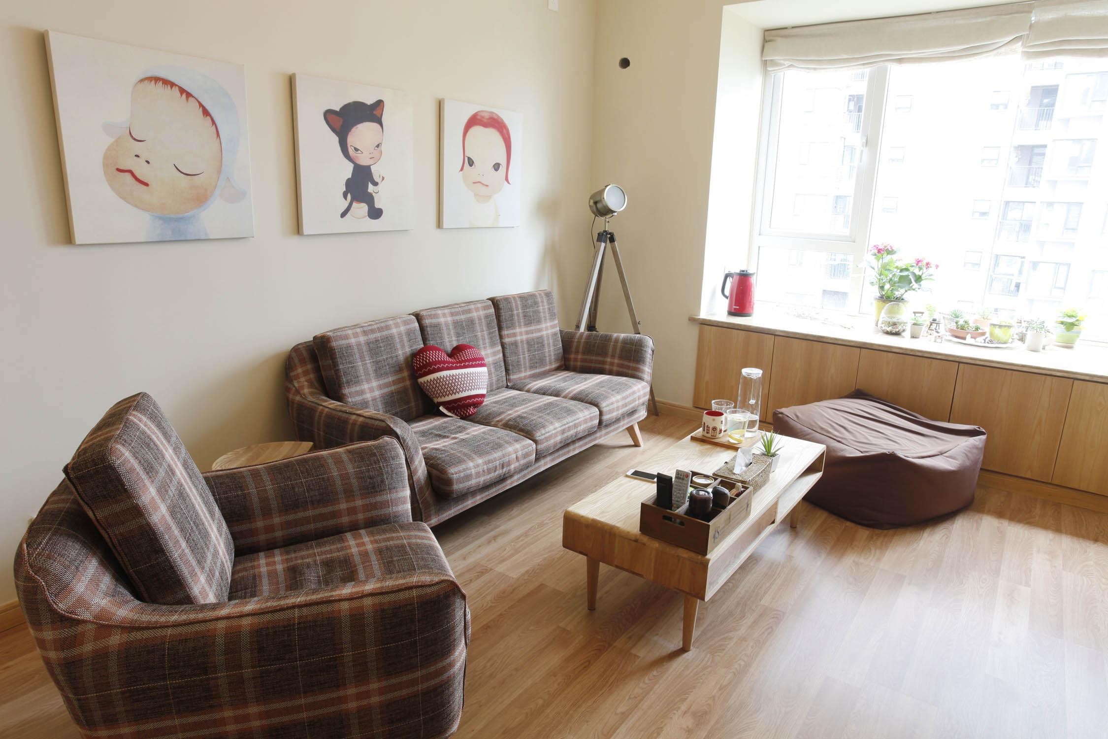 福州日式MUJI风格极简舒适三居装修设计