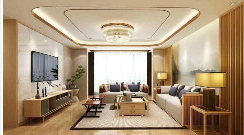 青島溫馨日式風格二居室裝修效果圖