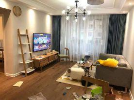 青岛北欧风格二居室装修效果图