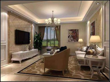 西安淺水灣古典中式四居室裝修案例