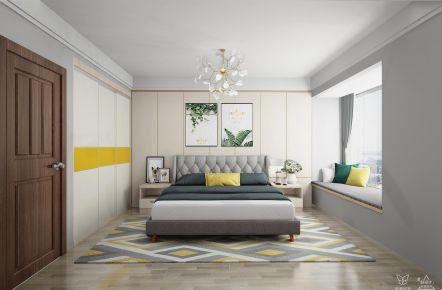 長沙現代簡約溫馨三居室裝修效果圖