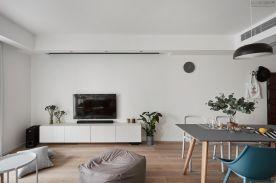 重慶【維享家裝飾】89平三居室北歐風格裝修