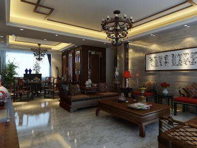 東莞綠景古典中式風格四室雅居裝修