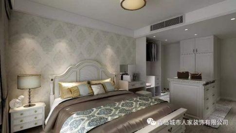青岛菏泽三路现代轻奢风格三居室装修案例图