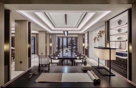 金华古典新中式别墅装修效果图