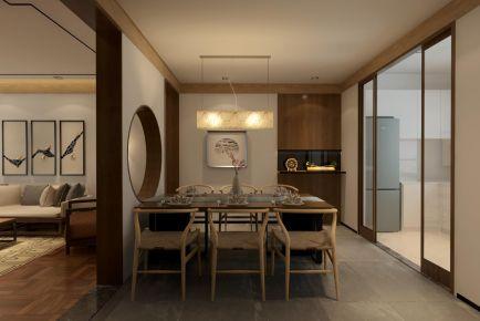 福州160㎡中式風格三居室裝修效果圖