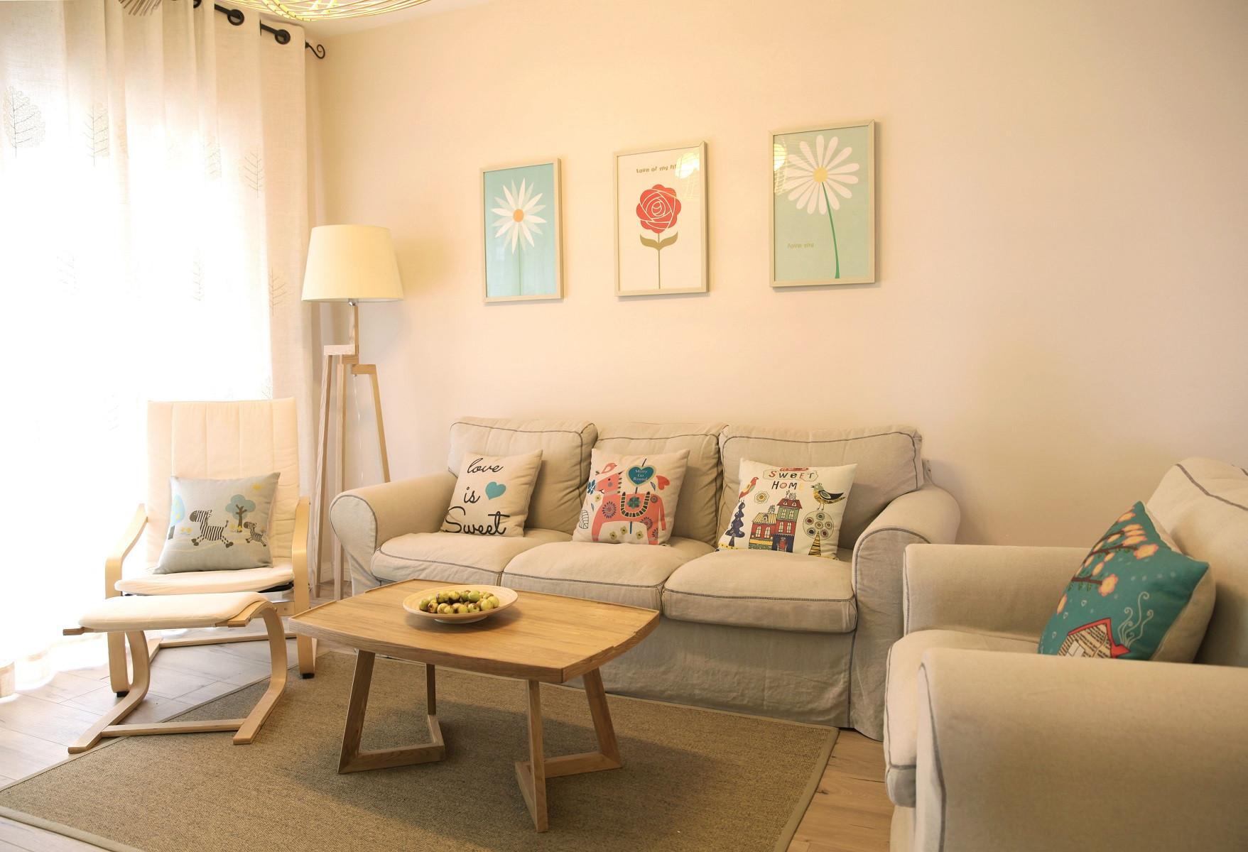 福州100平日式风格三居室装修效果图