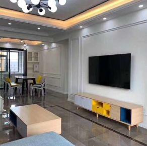深圳現代簡約三居室裝修效果圖