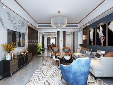 杭州時尚輕奢大氣現代風格裝修案例展示