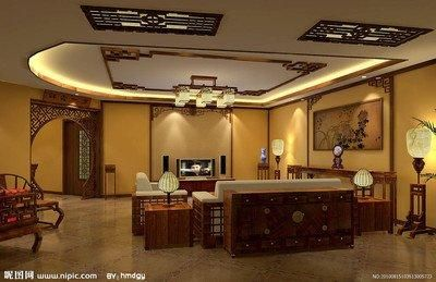 寧波恒威君和院中式風格裝修效果圖展示