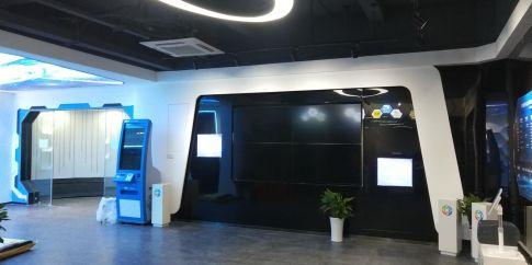 杭州中智游展厅现代炫酷商铺装修案例