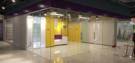 广州时尚创意混搭风办公室商铺装修设计案例