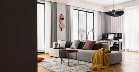 重庆维享家装饰三居轻奢风格新家装修案例