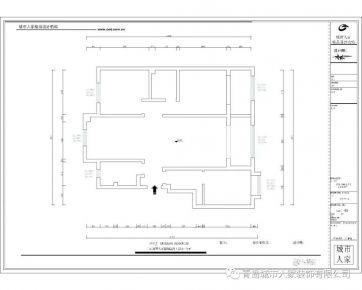 青島皇后道日式風格三居室裝修案例圖