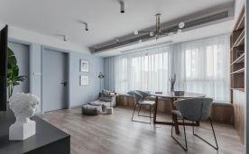 重庆【维享家装饰】95平三居室北欧风格新家装修