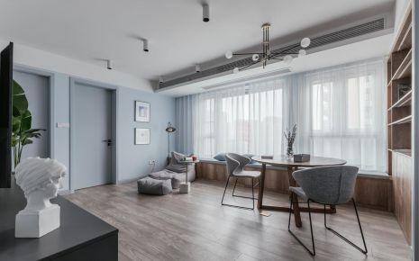 重慶【維享家裝飾】95平三居室北歐風格新家裝修