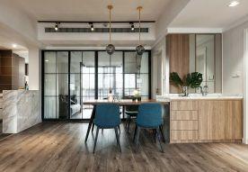 广州简约时尚现代两居室装修效果图案例