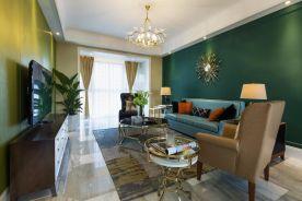 福州127平时尚都市风格三居室装修案例
