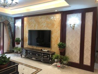 济南奢华欧式四居室装修设计案例