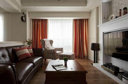 福州美式风格二居装修,优雅休闲,舒适惬意的生活,就从这里开始!