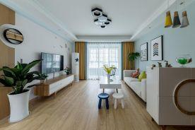 重庆【维享家装饰】92平三居室北欧风格装修案例