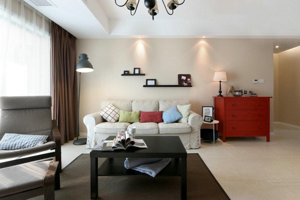 杭州创一居东湖公寓现代简约风格装修案例