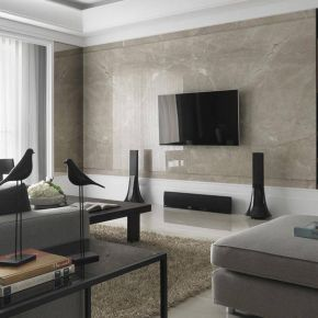 福州138㎡三居室现代古典风装修效果图