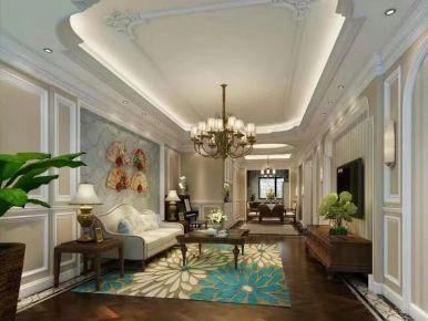 合肥蓝蝶苑古典欧式三居装修效果图,感受最浓烈的浪漫与惬意