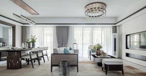 重庆【维享家装饰】110四居室现代中式风格装修