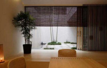 福州日式风格三居室装修,原木质感的家居空间,自然清新!