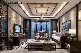 福州雅致新中式三室装修效果图