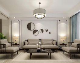 西宁新中式风格二居室装修,婉约高雅自成一派!