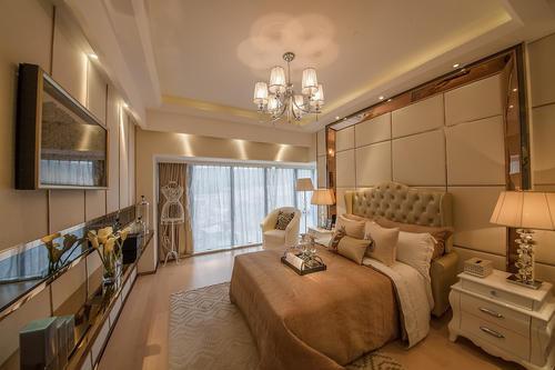 福州现代简约风格三居室装修效果图展示