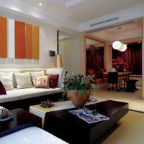 福州140平三室东南亚风格装修,让生活变成度假