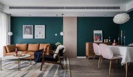 重庆【维享家装饰】86平三居室北欧风格装修案例