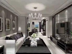 徐州时尚现代风格二室装修效果图展示