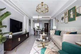 徐州两室简美风格装修案例展示
