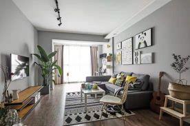 徐州温馨北欧风格二居室装修案例展示