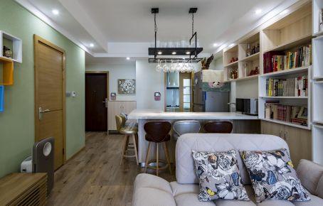 福州110平北欧风三室装修,雅致新居怡然温馨