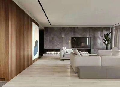 东莞简约现代风格三室装修效果图展示