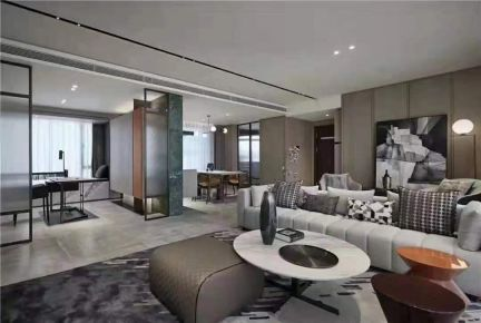 东莞现代风格四室装修,安静空间,宁静致远