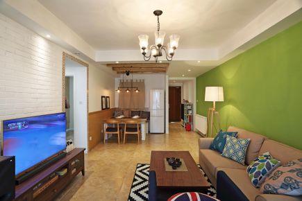 福州136㎡简约风格三居室装修设计案例