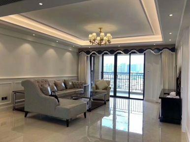福州低调奢华简约风三居室装修案例展示