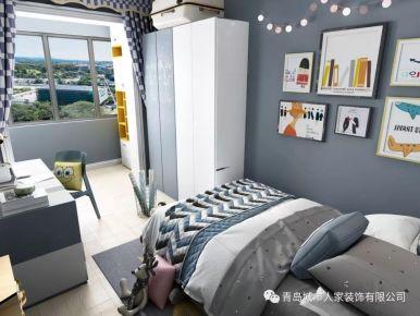 青島福州路小學北歐風格一居室裝修案例圖