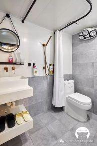 青島錯埠嶺現代簡約風格一居室裝修案例圖