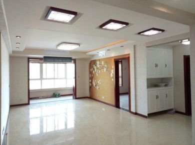 咸阳简约中国风三居室装修设计案例