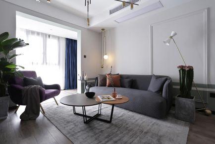 重庆【维享家装饰】92平三居室混搭风格装修案例
