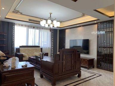 咸阳复古优雅中式风格三室装修设计案例