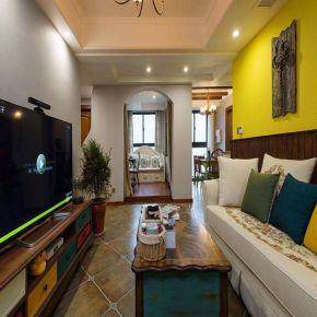 福州美式风格三室装修,温馨浪漫的生活格调
