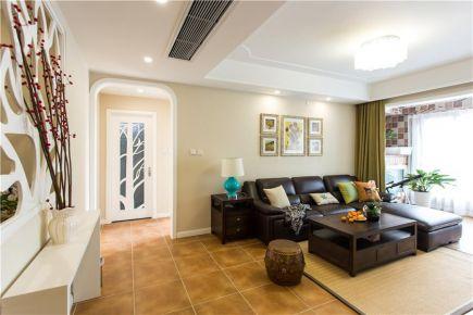 福州美式休闲风格两居室装修案例